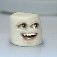 Marshmallow annoying orange (c) daneboe