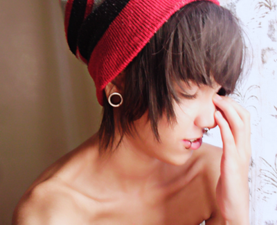 You can see his collarbone. Nothing bad about it. >.>