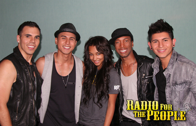New Boyband RADIO FOR THE PEOPLE w/. Jessica Jarrell