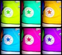 colorful converse