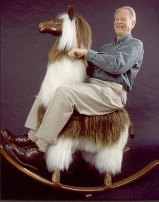 old man on lama