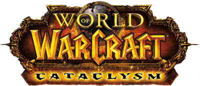 World of Warcraft:cataclysm LoGo