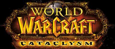 World of Warcraft:cataclysm LoGo