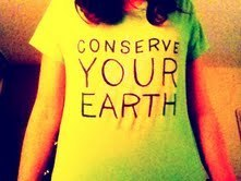 Conserve your earth~