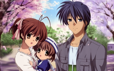 the okazaki family from Clannad