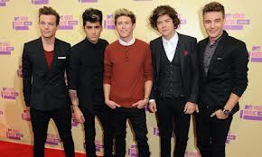 one direction at the VMA