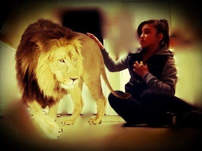 My lion though Uff
