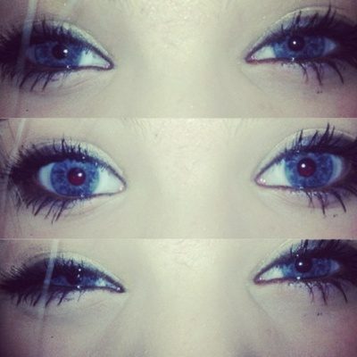 Finally did this, and yes, this is my natural eye color♥