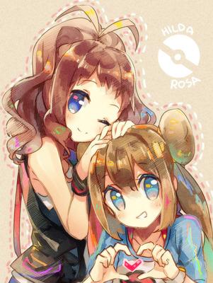 Pokemon - Touko & Mei