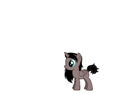 Valescar as filly with  her real colors