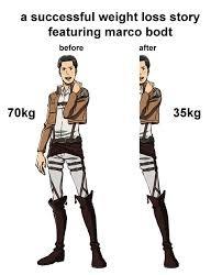Marco half joke