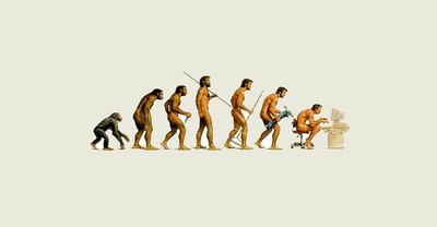 Social Evolution Of An Internet Addict