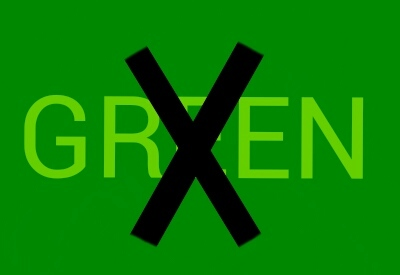 Green is not a creative colour~