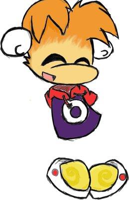 Chibi Rayman