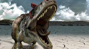Angry Allosaurus!