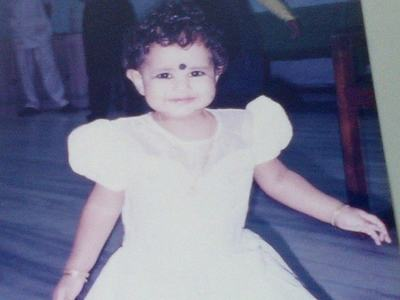 1-year old Arthi!