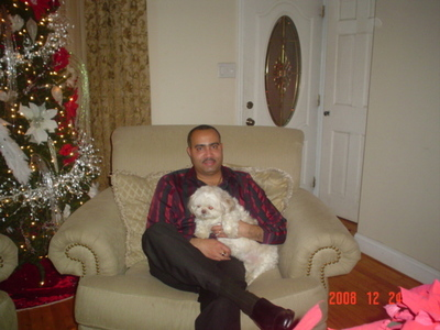 my dad and my puppy princess