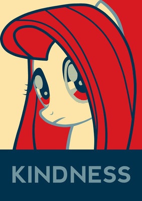 fluttershy kindness
