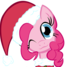 merry Christmas from pinkie pie