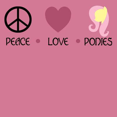 peace love ponies