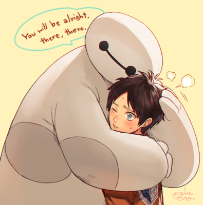 Attack on Titan, Big Hero 6 Crossover.