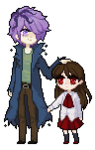 Sprite Garry and Ib