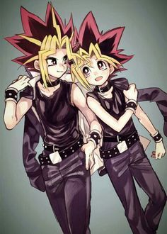Yami and Yugi Being Cute!