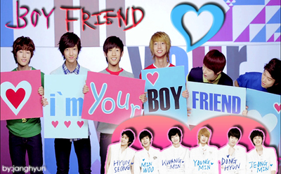 Omggiieee♥♥♥ I love Boyfriend♥♥♥