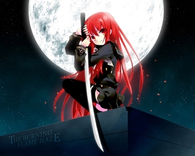 assasin anime girl