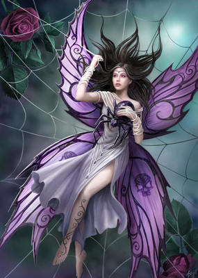 Spider Dark Fairy