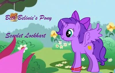 My Pony- Scarlet Lockhart (2)