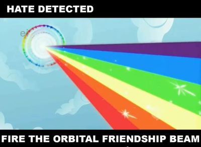 Fire Orbital Friendship Beam