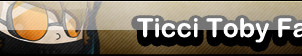 Ticci Toby fan button