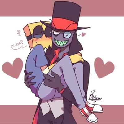 Excuse me while I casually ship a demon and a scientist